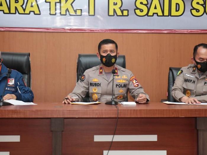 Karo Penmas Divisi Humas Polri Brigjen Rusdi Hartono di RS Polri (Foto: Tiara/detikcom)