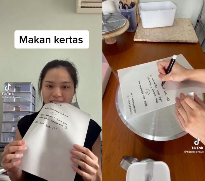 Kertas dan Spidol Ini Bisa Dimakan, Netizen: Cocok Buat Contekan