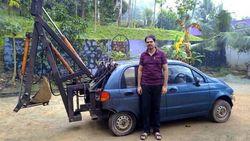Menolak Mati, Mobil Tua Ini Disulap Jadi Eskavator