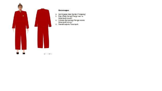 Pakaian adat jawa barat laki-laki