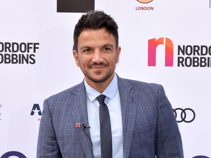 LONDON, ENGLAND - JULY 05:  Peter Andre attends the Nordoff Robbins O2 Silver Clef Awards 2019 at the Grosvenor House on July 05, 2019 in London, England. (Photo by Jeff Spicer/Getty Images)
