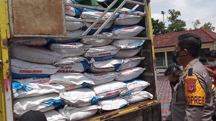 Polres Indramayu Tangkap Penyelundup Pupuk Subsidi