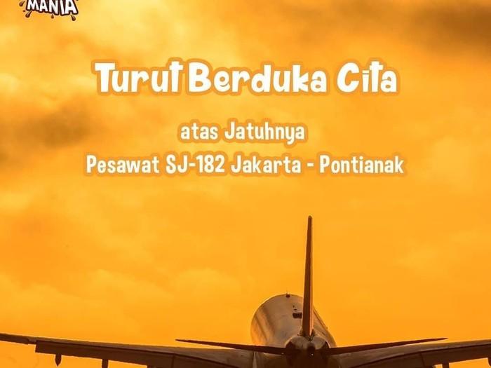 Ucapan Duka Sriwijaya Air SJ 182 Dikecam Gegara Tagline Enaknya Kebangetan