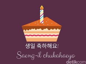 10 Ucapan Selamat Ulang Tahun dalam Bahasa Korea, Cocok Buat Pecinta Drakor