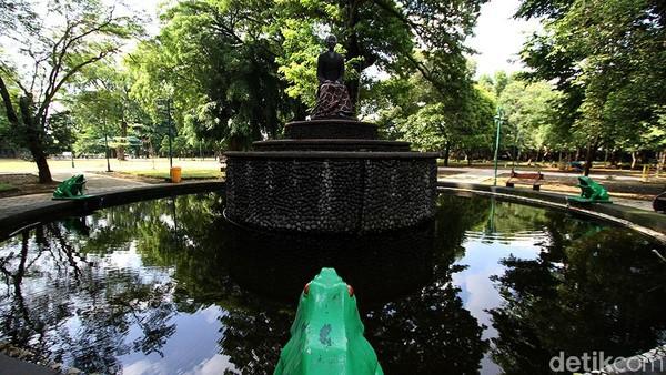 Taman tersebut kembali dibuka setelah ditutup selama 5 bulan untuk renovasi.