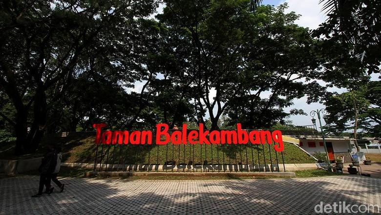 Taman Balekambang, Solo, Jawa Tengah, sudah selesai direnovasi. Saat ini suasananya menjadi sangat asri. Penasaran?