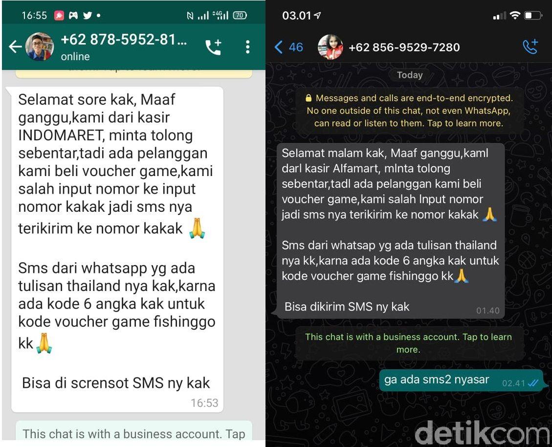 WhatsApp Penipuan