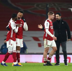 Arteta Tersenyum Melihat Dua Pemain Muda Andalan Arsenal