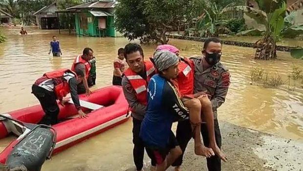 Banjir di Kabupaten Banjar, Kalsel.