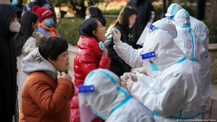 Cina Karantina Puluhan Juta Penduduk Jelang Tahun Baru