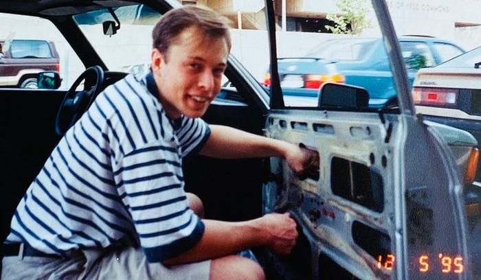 Elon Musk 1995