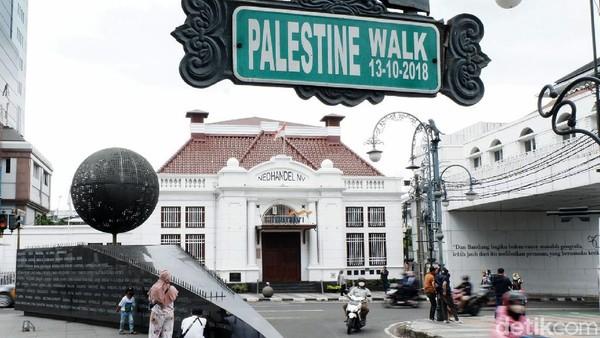 Diketahui jalan yang menggunakan nama negara itu hanya ada dua di Asia, yakni di Indonesia dan Malaysia. Siti Fatimah/detikcom
