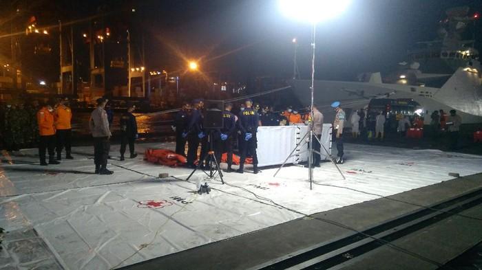 Hari Kelima Evakuasi SJ182, Tim SAR Temukan 7 Serpihan-2 Bagian Tubuh Korban (Foto: Adhyasta/detikcom)