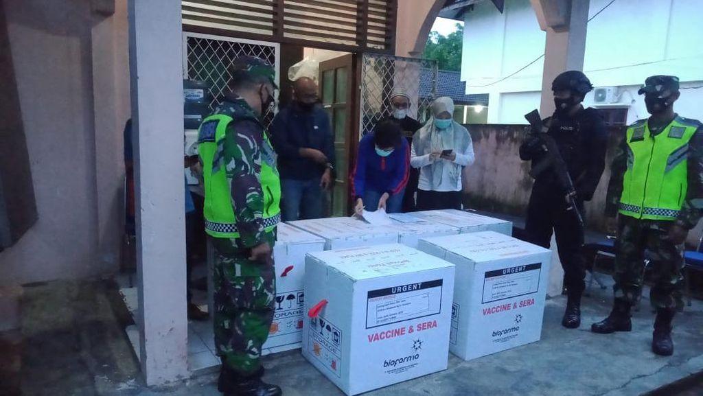 Provinsi Jambi Terima 11.200 Dosis Vaksin Corona Tahap Dua