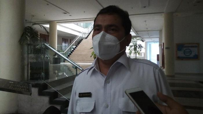 Kadinkes Sumut, Alwi Mujahid Hasibuan (Datuk Haris Molana-detikcom)