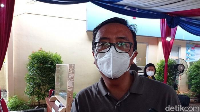 Keluarga Beben Sofyan dan Razanah, korban jatuhnya pesawat Sriwijaya Air SJ182 (Sachril Agustin Berutu/detikcom).