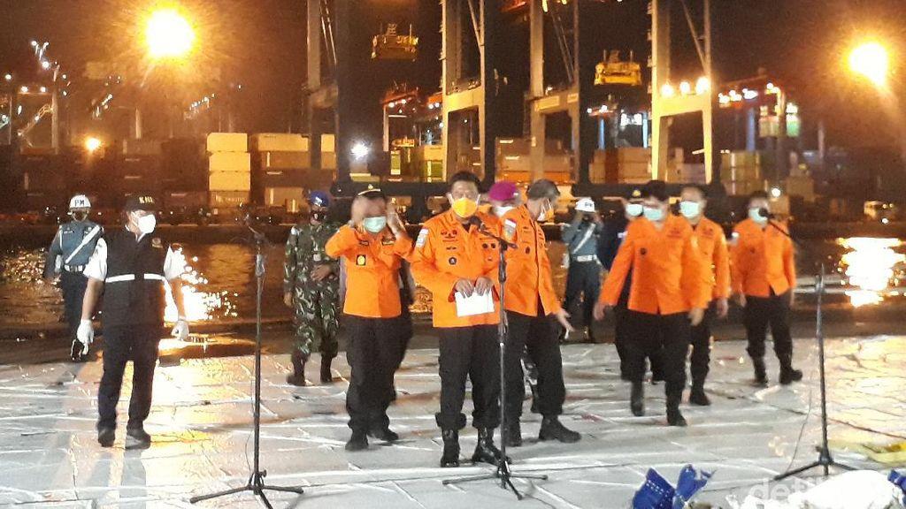 Hari Ke-9 Evakuasi Sriwijaya Air SJ182, 308 Kantong Jenazah-Bagian CVR Ditemukan