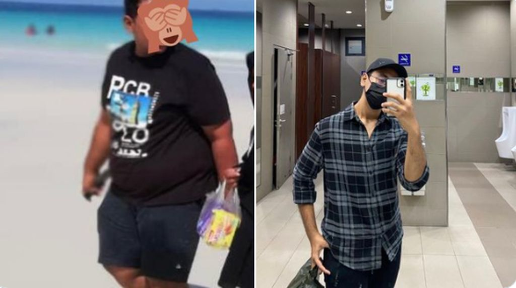 Keren! Diet Makan Ikan Bakar, Pria Ini Berhasil Turun BB 45 Kg