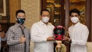 Bertemu Andi Farid, Bamsoet Harap Makin Banyak Pembalap MotoGP di RI