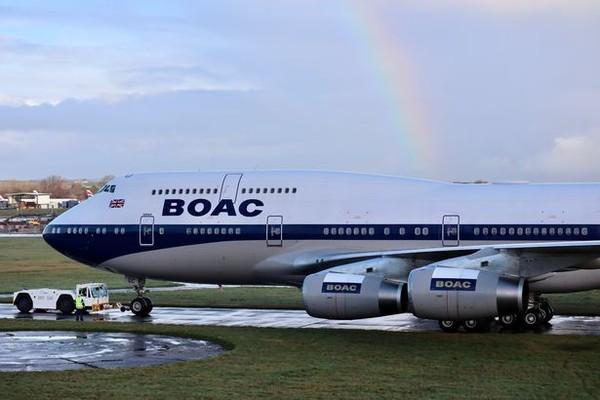 British Airways menghentikan penggunaan Boeing 747 yang boros bahan bakar lebih awal dari yang direncanakan karena dampak pandemi virus Corona pada penerbangan. (Foto: British Airways)