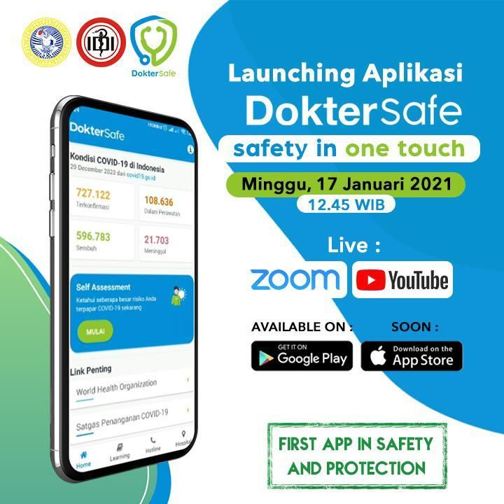 Launching Aplikasi DokterSafe