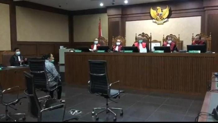 Maria Pauline Lumowa jalani sdiang dakwaan di Pengadilan Tipikor, Jakpus