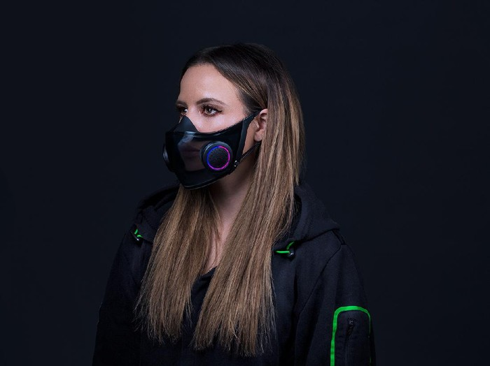 Masker pintar Razer