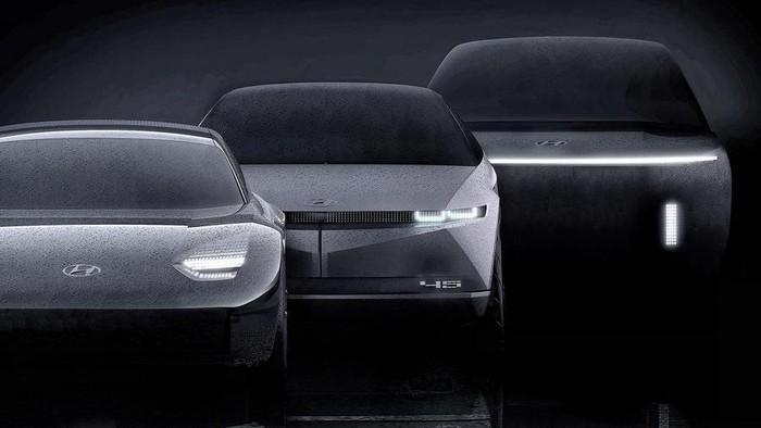 Mobil listrik Hyundai Ioniq 5, 6, dan 7