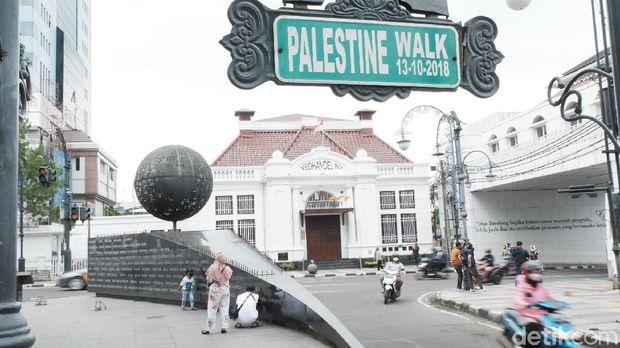 Palestine Walk di Bandung