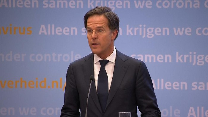 Perdana  Menteri Belanda Mark Rutte