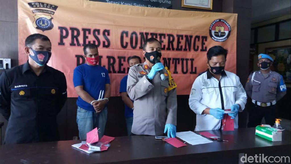 Peras Kepala Sekolah di Bantul, 3 Wartawan Gadungan Diciduk Polisi