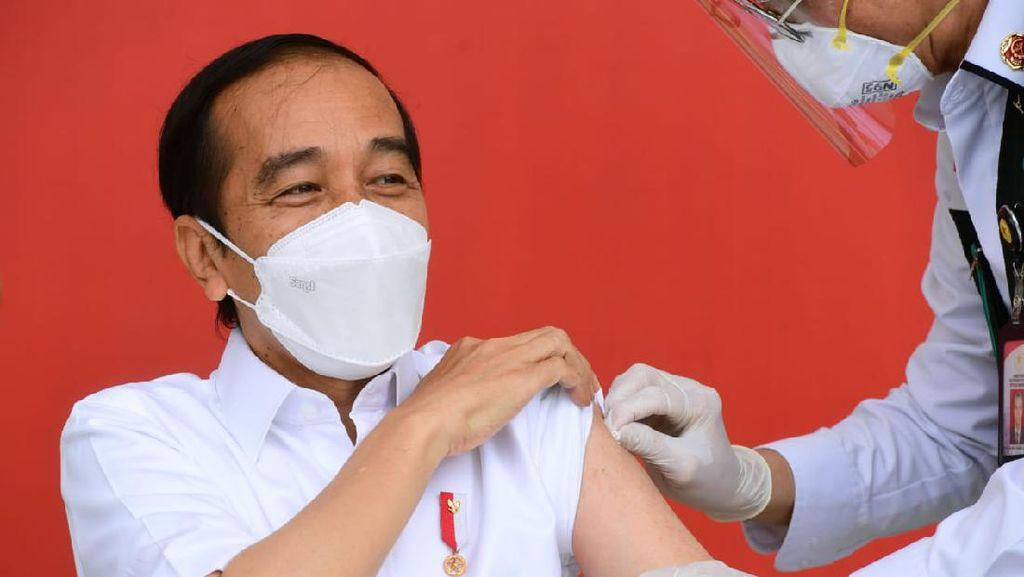 PKS Protes Vaksinasi Anggota DPR-Keluarga Tertutup: Contoh Pak Jokowi!