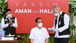 Potret Jokowi Divaksin COVID-19 Sinovac