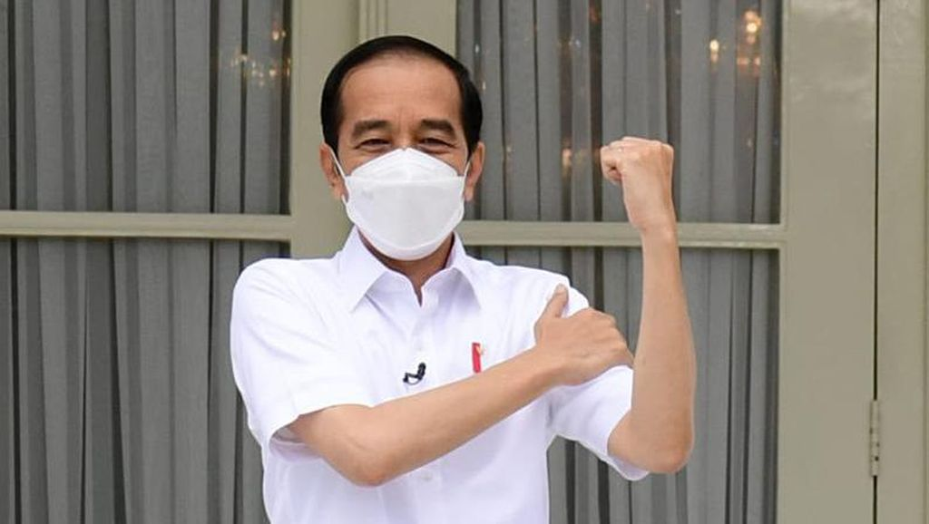 Ada 30 Ribu Vaksinator, Jokowi Targetkan Vaksinasi COVID Rampung Setahun