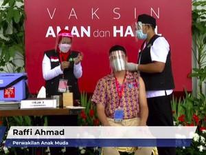Dear Raffi Ahmad, Ini yang Seharusnya Dilakukan Setelah Suntik Vaksin Corona