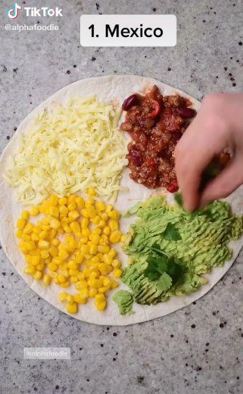 tortilla wrap viral di TikTok