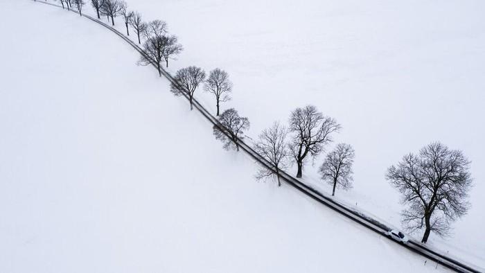 10 Potret Menakjubkan Jerman Saat Diselimuti Salju