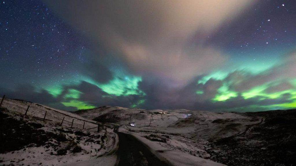 Aurora Borealis, Fenomena Cahaya Utara dalam Rekaman Foto