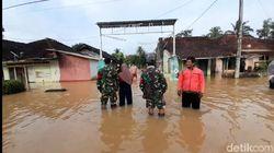 Banjir di Tasikmalaya Meluas, 400 Rumah Warga Terendam