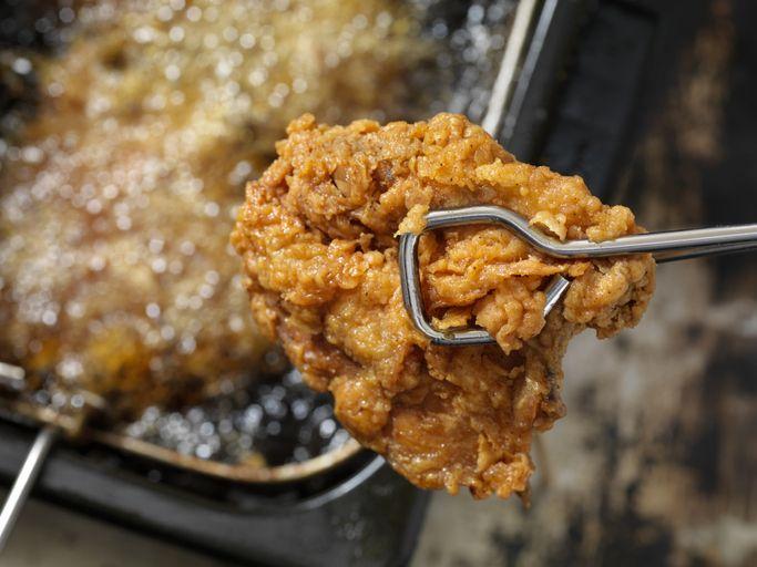 Cara menggoreng fried chicken