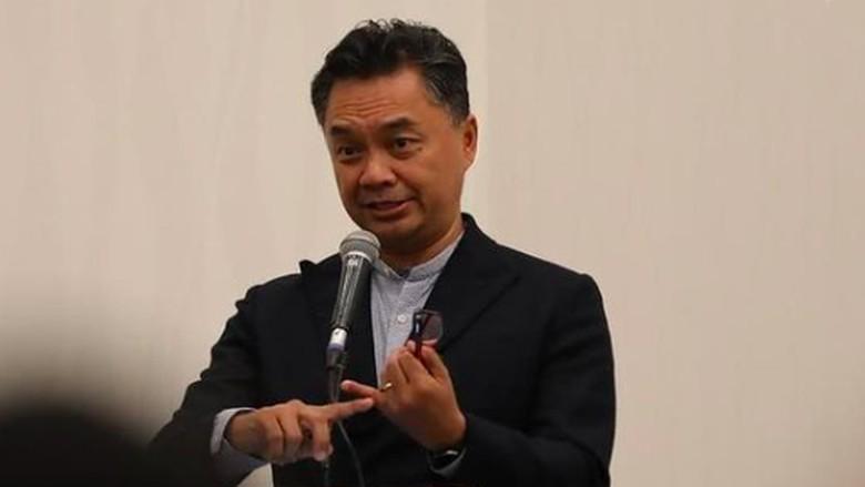 Dino Pati Djalal bicara di Konvensi Asosiasi Ilmu Hubungan Internasional Indonesia (AIIHI) di Universitas Udayana Bali