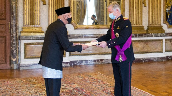Dubes RI bertemu Raja Belgia (Istimewa)