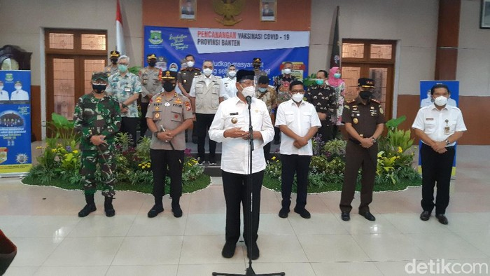 Forpimda Banten Divaksinasi