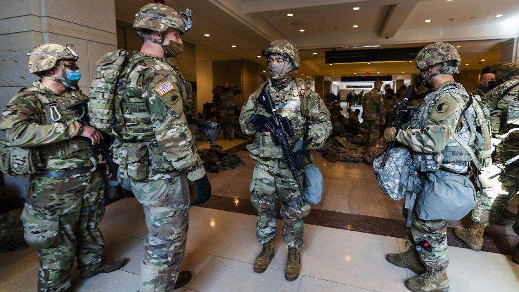 Garda Nasional Terus Didatangkan Jelang Pelantikan Joe Biden