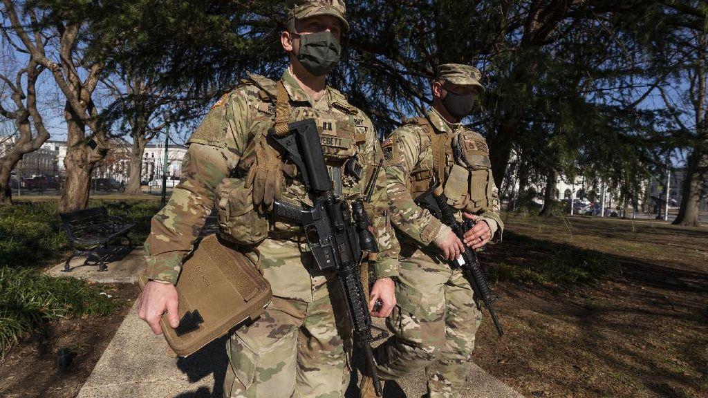 25.000 Personel Garda Nasional Siaga di Gedung Capitoll AS