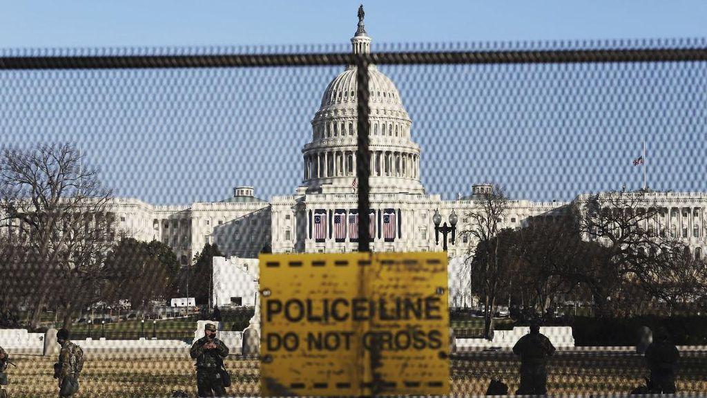 Capitol Ditutup Usai Ada Kebakaran, Picu Kekhawatiran Jelang Pelantikan Biden