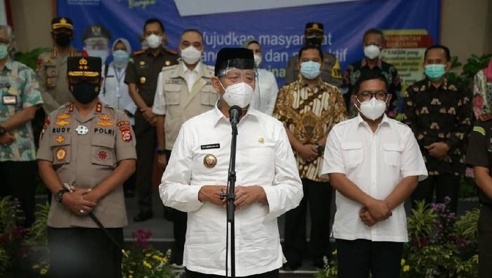 Gubernur Banten Wahidin Halim (WH)