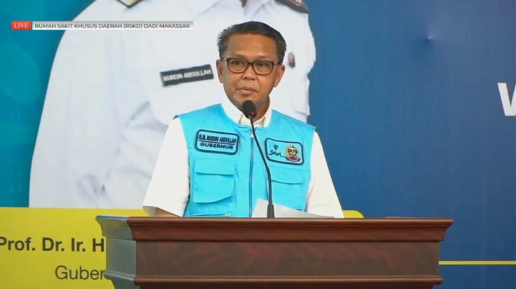 OTT KPK, Gubernur Sulsel Nurdin Abdullah Ditangkap Bersama 5 Orang Lain