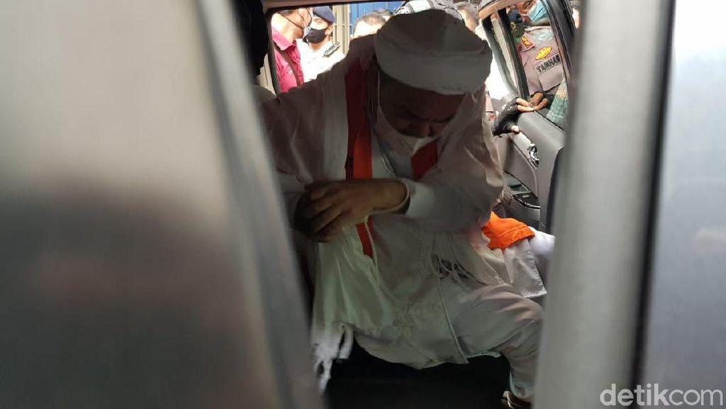 Di Dalam Rutan Bareskrim, Habib Rizieq Sedih Mengetahui Gurunya Wafat