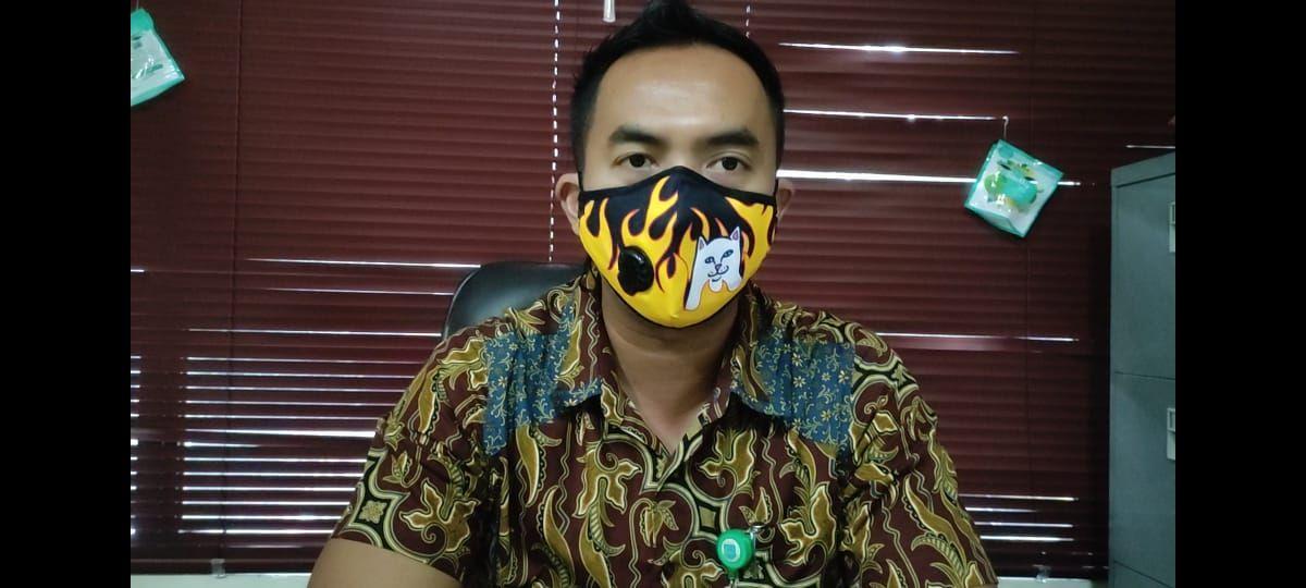 Kasie Pengelolaan Sampah Dinas Lingkungan Hidup Tangsel, Rastra Yudhatama. (Taufieq Renaldi Arfiansyah/detikcom)